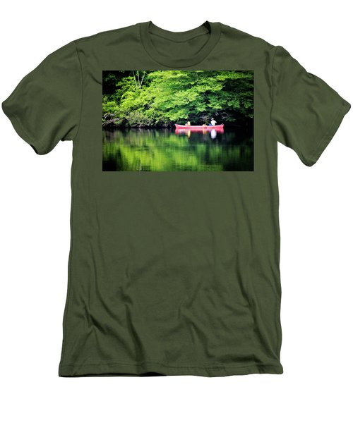 Fishing On Shady Men's T-Shirt (Athletic Fit)