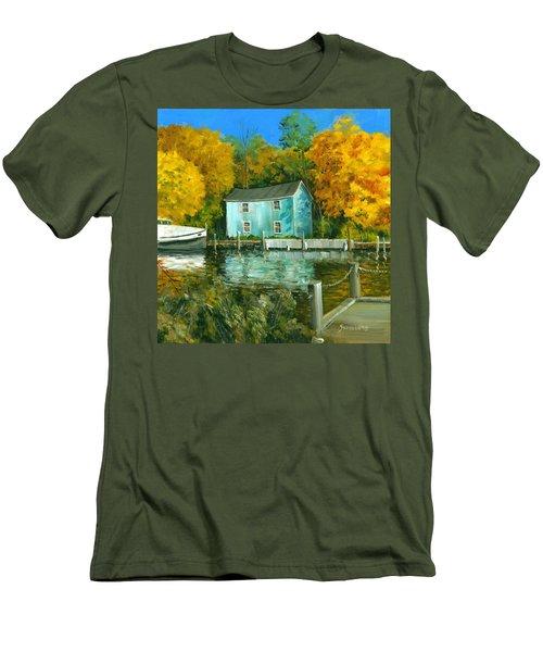 Fishing Shanty Men's T-Shirt (Athletic Fit)