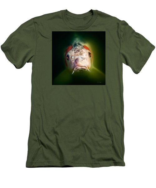 Here's Looking At You Men's T-Shirt (Slim Fit) by Denis Lemay