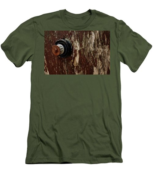 Flaking Paint Men's T-Shirt (Athletic Fit)