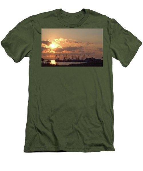 Fleet Men's T-Shirt (Slim Fit) by Newwwman
