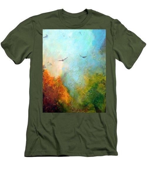Flights Of Fancy Men's T-Shirt (Slim Fit) by Dina Dargo