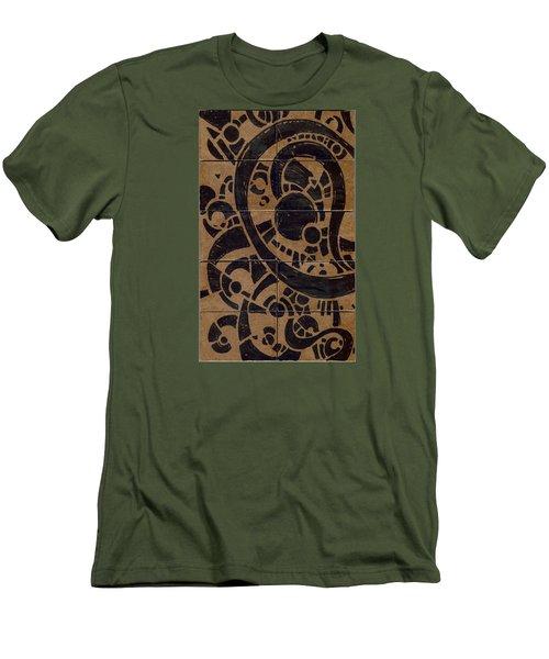 Flipside 1 Panel A Men's T-Shirt (Slim Fit) by Joseph A Langley