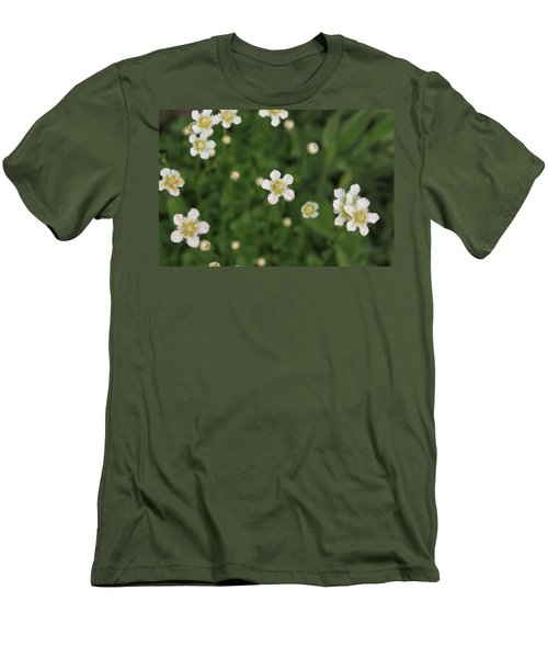 Men's T-Shirt (Slim Fit) featuring the photograph Floating In Green by Shari Jardina