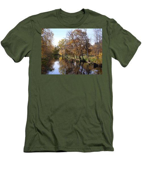 Flood Plain Men's T-Shirt (Athletic Fit)