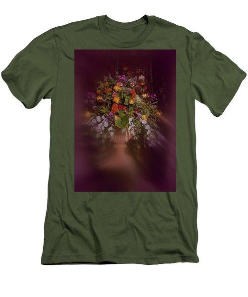 Floral Arrangement No. 2 Men's T-Shirt (Slim Fit) by Richard Cummings