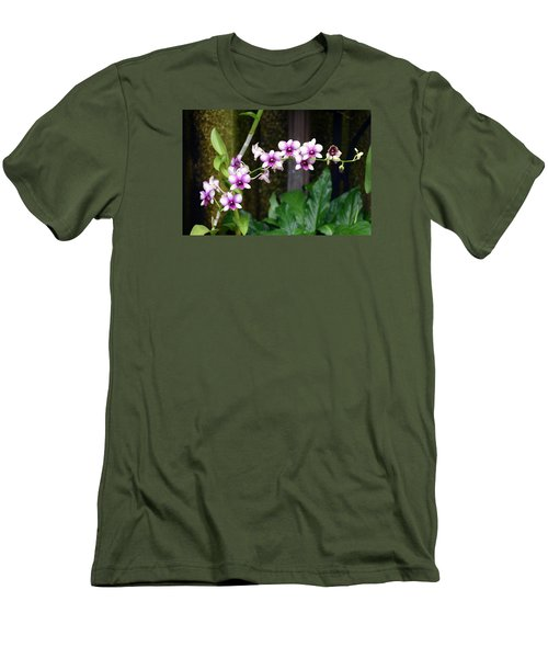 Floral Sway Men's T-Shirt (Athletic Fit)