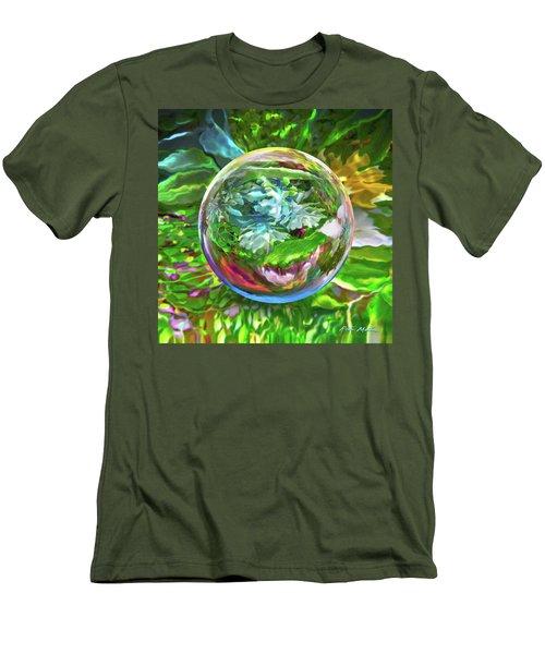 Florascape Men's T-Shirt (Athletic Fit)