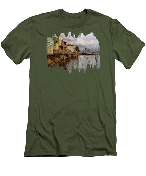 Scene On The Siuslaw  Men's T-Shirt (Athletic Fit)