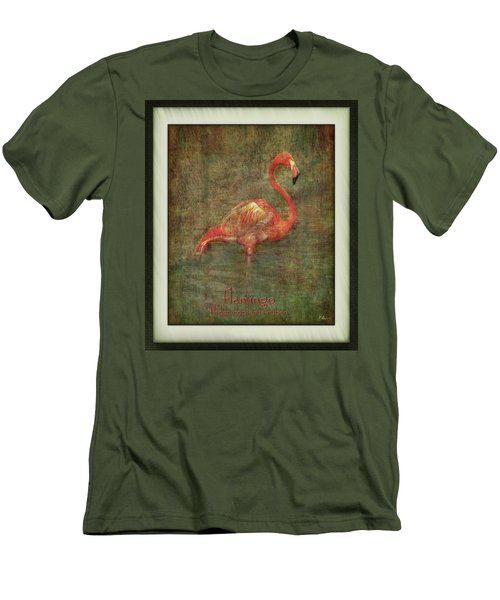 Men's T-Shirt (Athletic Fit) featuring the photograph Florida Art by Hanny Heim