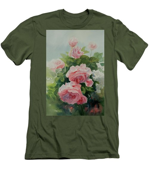 Flower 11 Men's T-Shirt (Slim Fit) by Helal Uddin