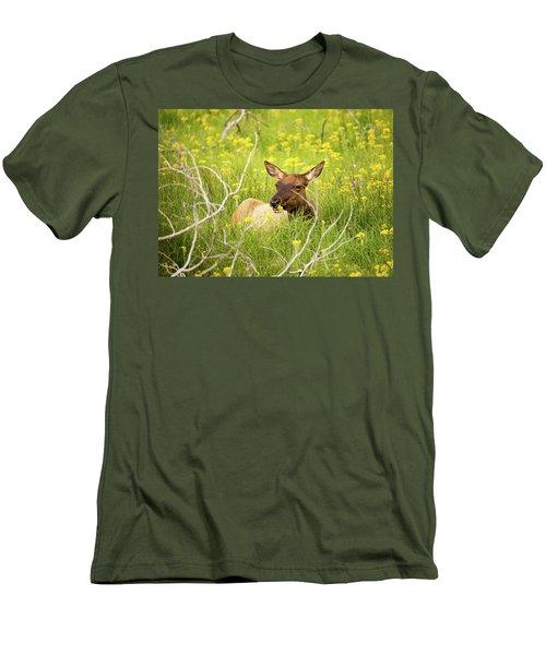Flower Child Men's T-Shirt (Athletic Fit)