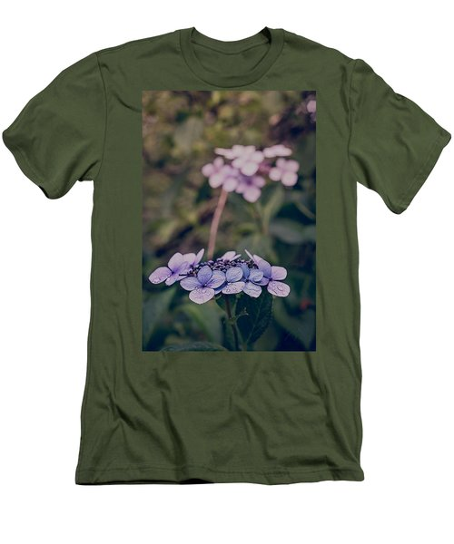 Flower Of The Month Men's T-Shirt (Athletic Fit)