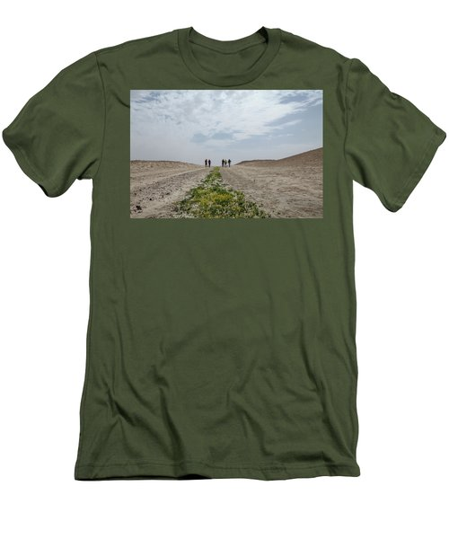 Flowering In The Desert Men's T-Shirt (Athletic Fit)