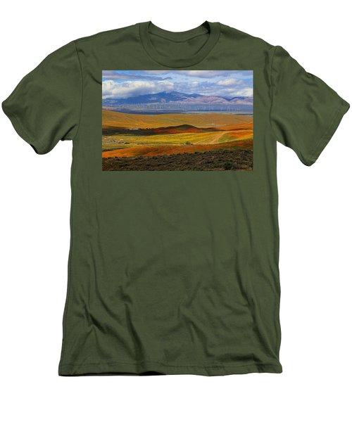 Flowers Carpet Men's T-Shirt (Athletic Fit)
