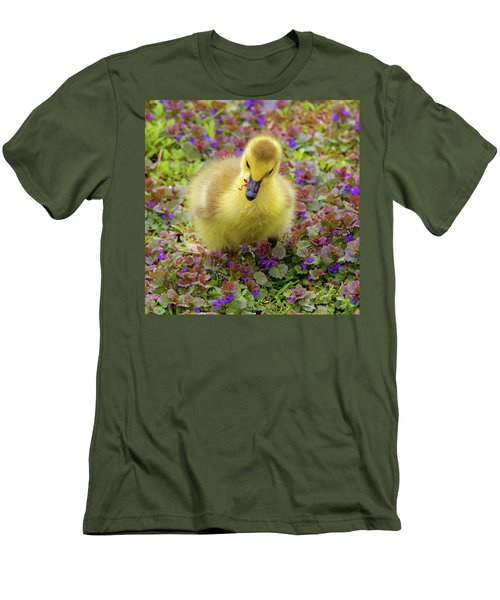 Flowers For Lunch Men's T-Shirt (Athletic Fit)