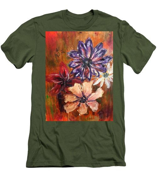 Flowers In The Spring Men's T-Shirt (Athletic Fit)