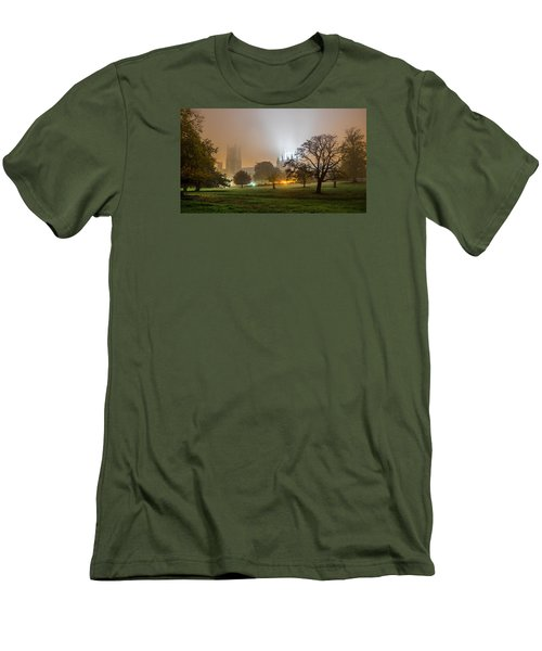 Foggy Cathedral Men's T-Shirt (Athletic Fit)
