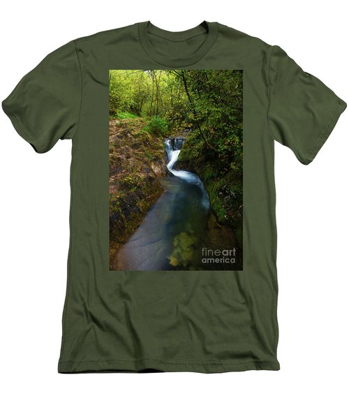 Men's T-Shirt (Slim Fit) featuring the photograph Follow It I by Yuri Santin