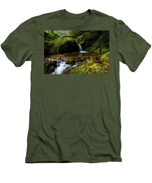 Men's T-Shirt (Slim Fit) featuring the photograph Follow It II by Yuri Santin