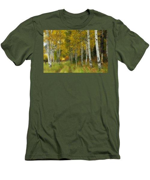 Follow The Light Men's T-Shirt (Athletic Fit)