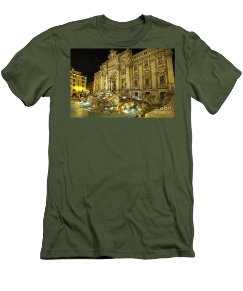 Fontana Di Trevi 1.0 Men's T-Shirt (Athletic Fit)