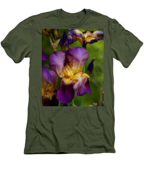 For The Love Of Iris Men's T-Shirt (Athletic Fit)
