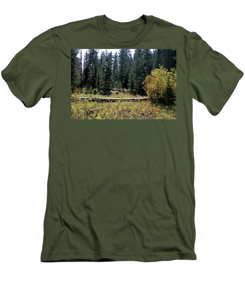Forest Clearing Men's T-Shirt (Athletic Fit)
