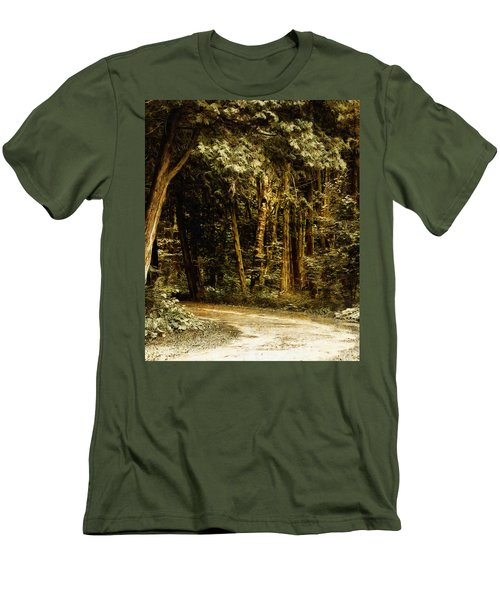 Forest Curve Men's T-Shirt (Athletic Fit)