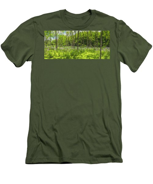 Forest Floor Dame's Rocket Men's T-Shirt (Athletic Fit)