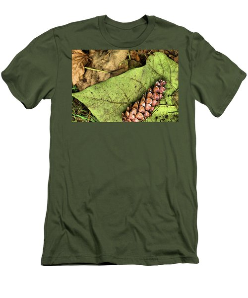 Forest Floor Still Life Men's T-Shirt (Athletic Fit)