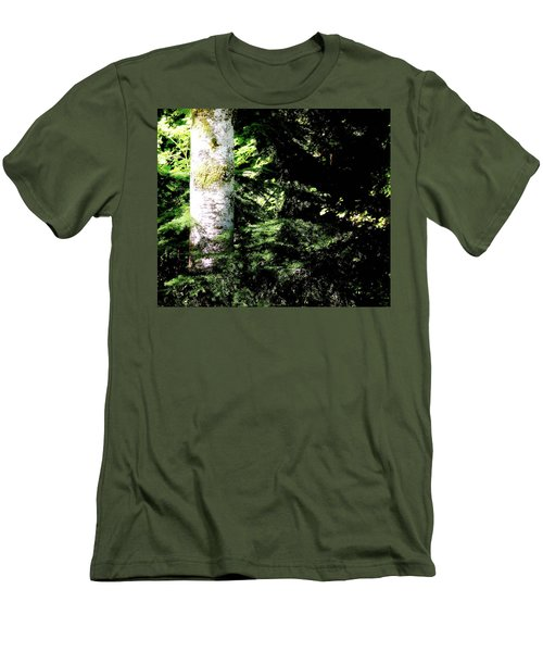 Forest Glow Men's T-Shirt (Athletic Fit)