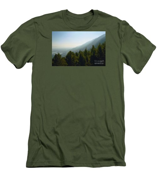 Forest In Israel Men's T-Shirt (Slim Fit) by Gail Kent