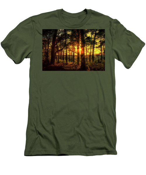 Forest Sunset Men's T-Shirt (Athletic Fit)