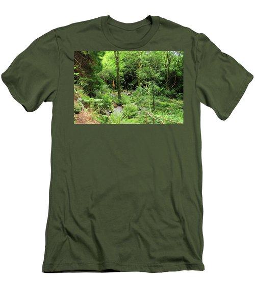 Forest Walk Men's T-Shirt (Slim Fit) by Aidan Moran