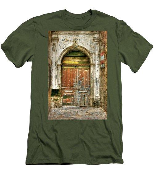 Forgotten Doorway Men's T-Shirt (Athletic Fit)