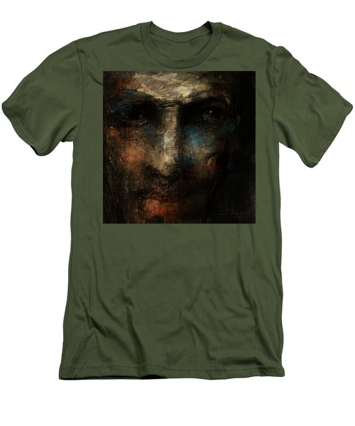 Men's T-Shirt (Athletic Fit) featuring the digital art Forgotten Soul by Jim Vance