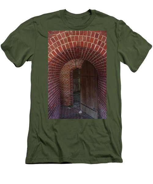 Men's T-Shirt (Slim Fit) featuring the photograph Fort East Martello by Greg Graham