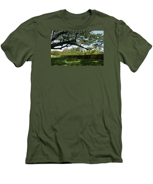 Fort Galle Men's T-Shirt (Slim Fit) by Christian Zesewitz