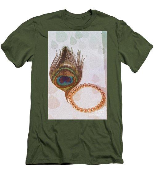 Fortune Assets Of Lord Krishna Men's T-Shirt (Slim Fit) by Kiran Joshi