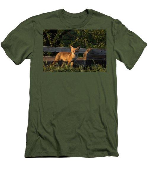 Fox 2 Men's T-Shirt (Athletic Fit)