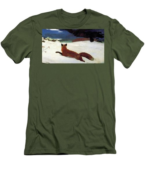 Fox Hunt Men's T-Shirt (Athletic Fit)