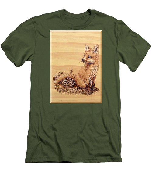 Fox Pup Men's T-Shirt (Athletic Fit)