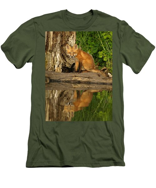 Fox Reflection Men's T-Shirt (Athletic Fit)
