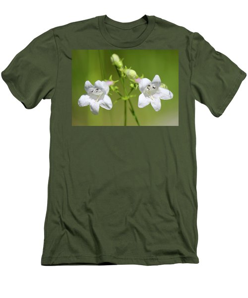Foxglove Beardtongue Men's T-Shirt (Athletic Fit)