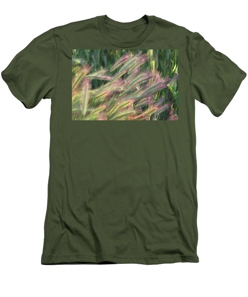 Foxtails In Spring Men's T-Shirt (Athletic Fit)