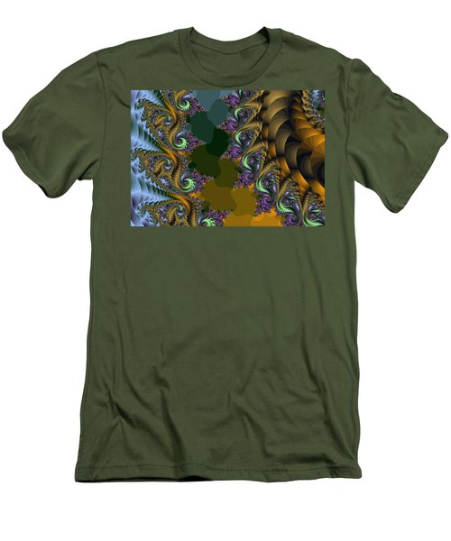 Fractals83002 Men's T-Shirt (Athletic Fit)