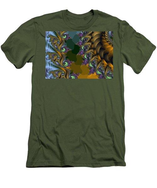 Fractals83002 Men's T-Shirt (Athletic Fit)