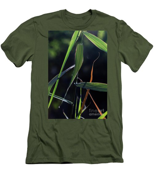 Men's T-Shirt (Athletic Fit) featuring the photograph Fragment by Linda Lees