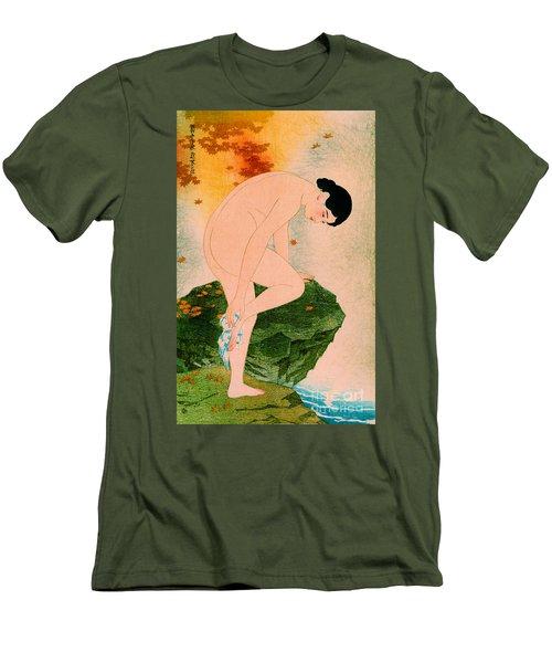 Fragrant Bath 1930 Men's T-Shirt (Slim Fit) by Padre Art